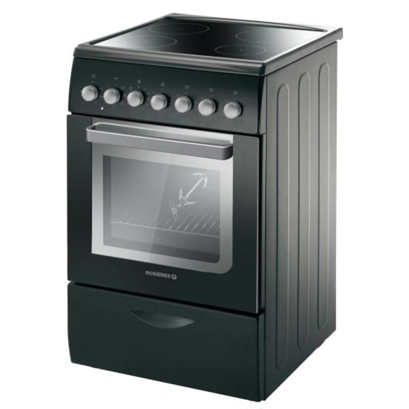 Cuisiniere electrique rosieres rvc5318pn - Cuisiniere lave vaisselle four rosiere ...